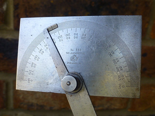 Starrett No183 Protractor