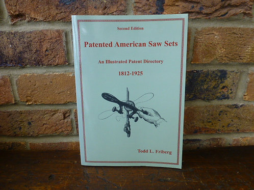 Book, Patented American Saw Sets