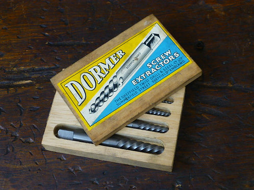 A Boxed Set of Dormer Screw Extractors