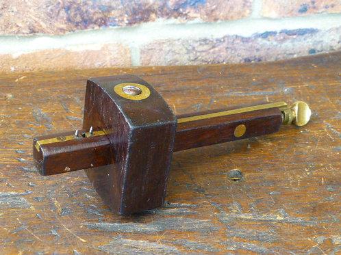 Marples Rosewood & Brass Mortice Gauge
