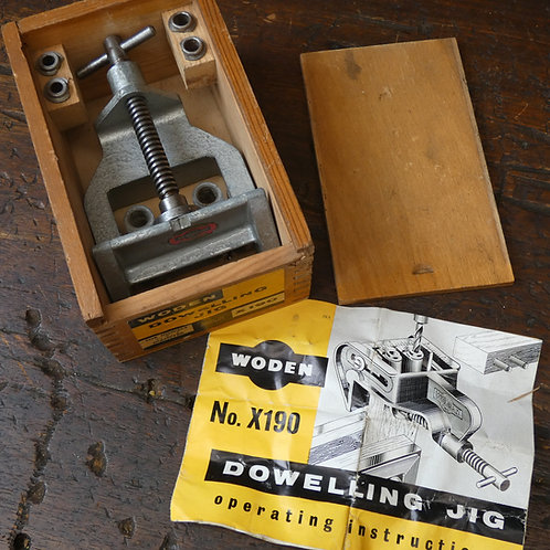 Boxed Woden Dowelling Jig No X190