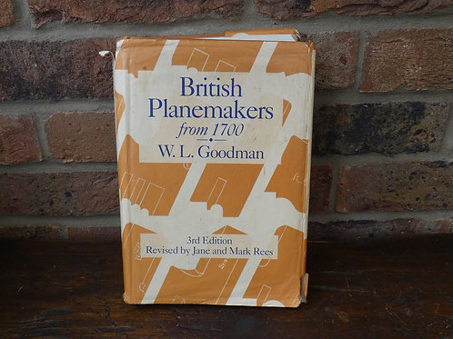 British Planemakers Hardback Book - 3rd Edition