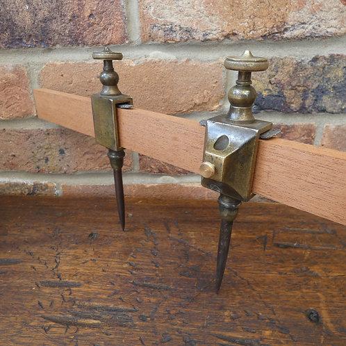 E Preston Decorative Brass Trammels