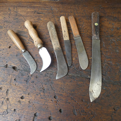 Selection of Leatherworker's Cutter's