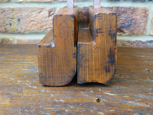 A Pair of hollow & Round Planes No18 by E.Preston