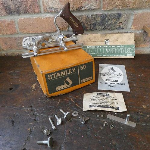Stanley No50 Combination Plane