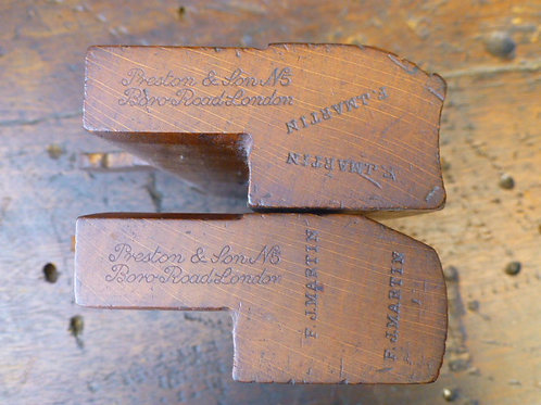 A Pair of No16 Hollow & Round Planes