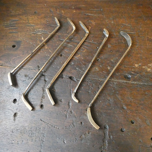Brass Foundryman's Moulder's Tools