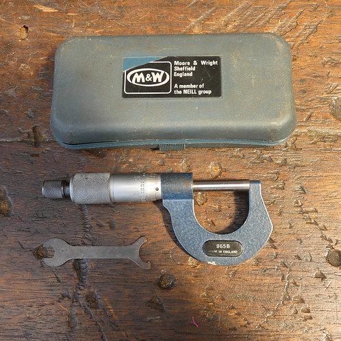 Moore & Wright 965B Micrometer