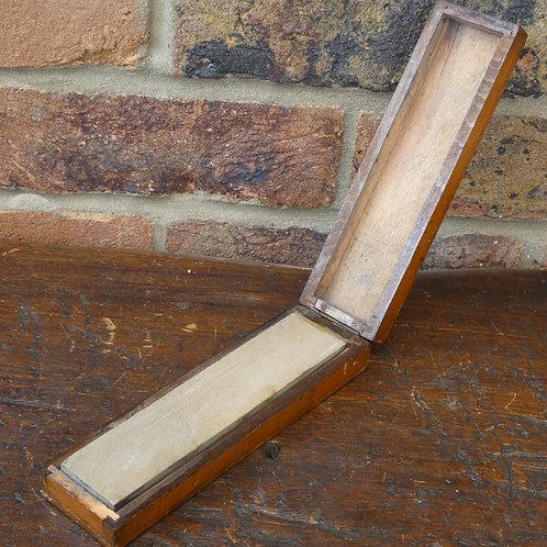 Boxed Belgium Coticule Razor Hone/Sharpening Stone