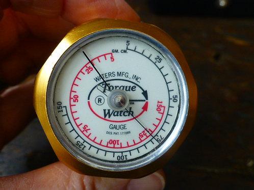 A Cased Torque Watch Gauge - Waters MFG Inc