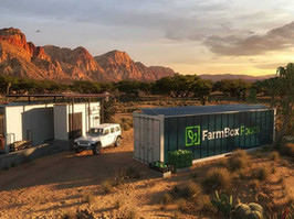 No Shipping Required: Container Farm Provides Fresh Greens Directly To Community