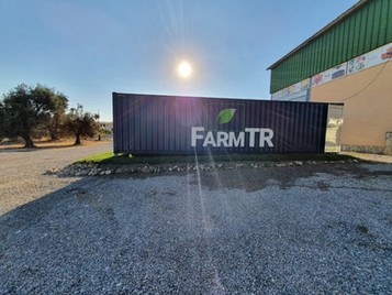 Turkish Mobile Plant Factory System: A Farm Inside A Container