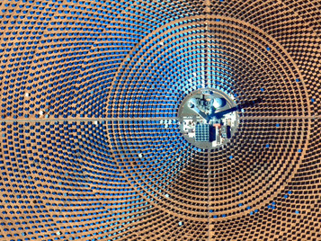 Noor III is The Newest Stage of The Ouarzazate Solar Power Station in Ouarzazate, Morocco