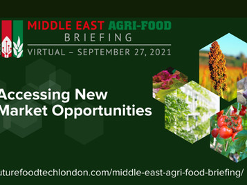 UAE Minister of State For Food & Water Security To Deliver Opening Address At Middle East Agri-Food