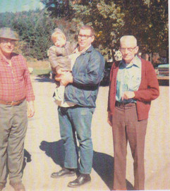 Jack, Michael, Jim, and George MacBeth, 1973