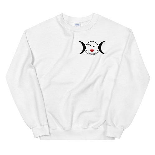 Fringe Brow Unisex Sweatshirt