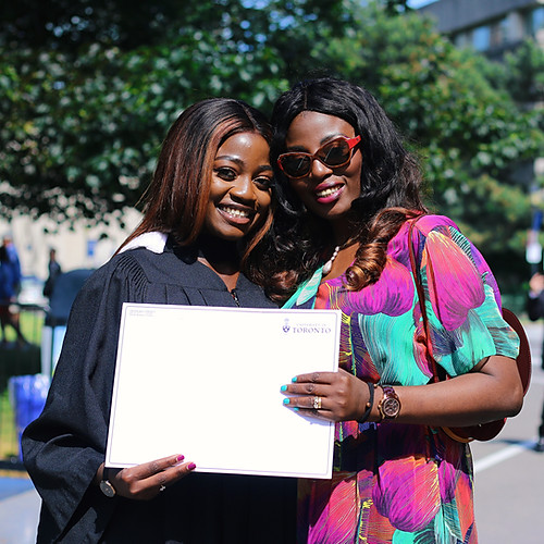 Omotola Odesilo's Graduation