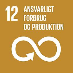 Verdensmål 12 Ansvarligt forbrug og produktion Danmark for Målene
