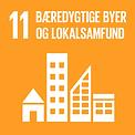 Verdensmål 11 Bæredygtige byer og lokalsamfund Danmark for Målene om FN's 17 verdensmål