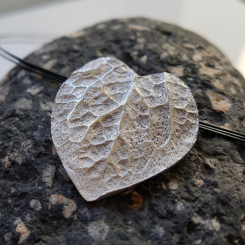 Pendentif Coeur végétal