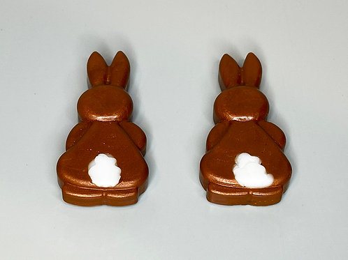 Chocolate Egg Bunnies   Pack of 2