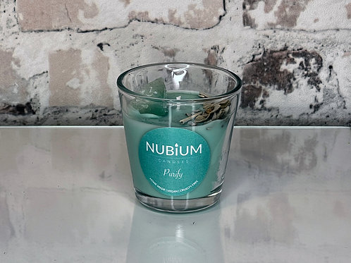Purify Crystal Infused Candle   Discovery Size