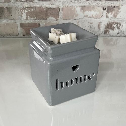 Home Wax Burner Grey