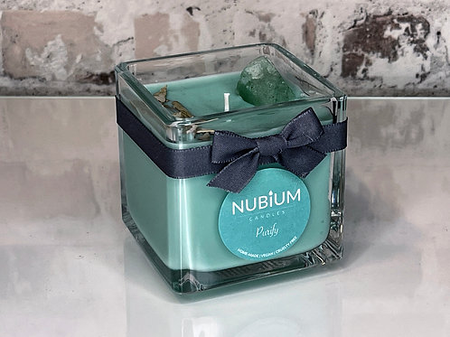 Purify Crystal Infused Candle