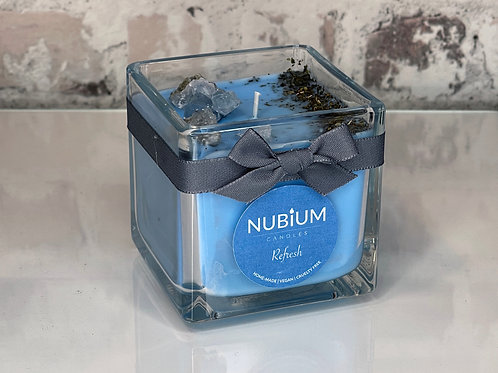 Refresh Crystal Infused Candle