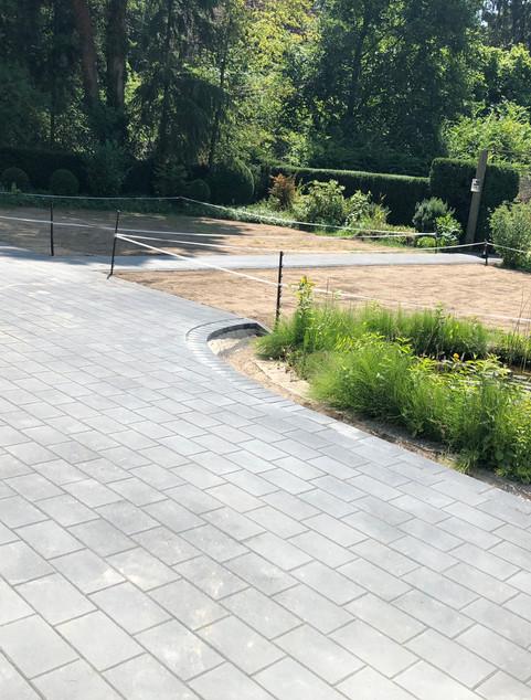 Plastersteine Garten