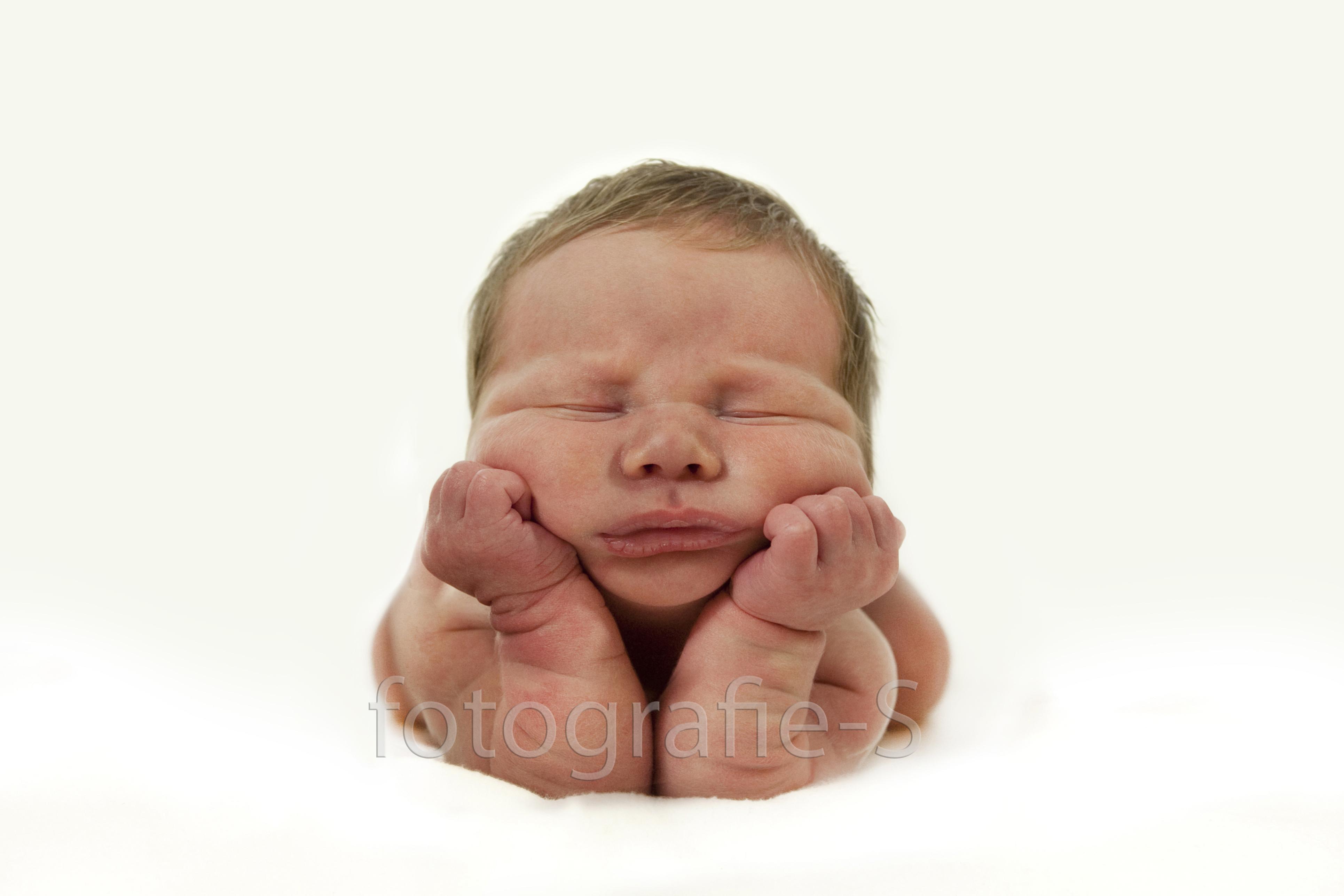 Newborn portret fotograaf