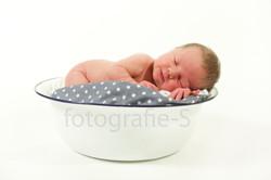 Newborn foto portret fotografie