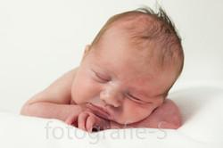 Pasgeboren baby foto portret