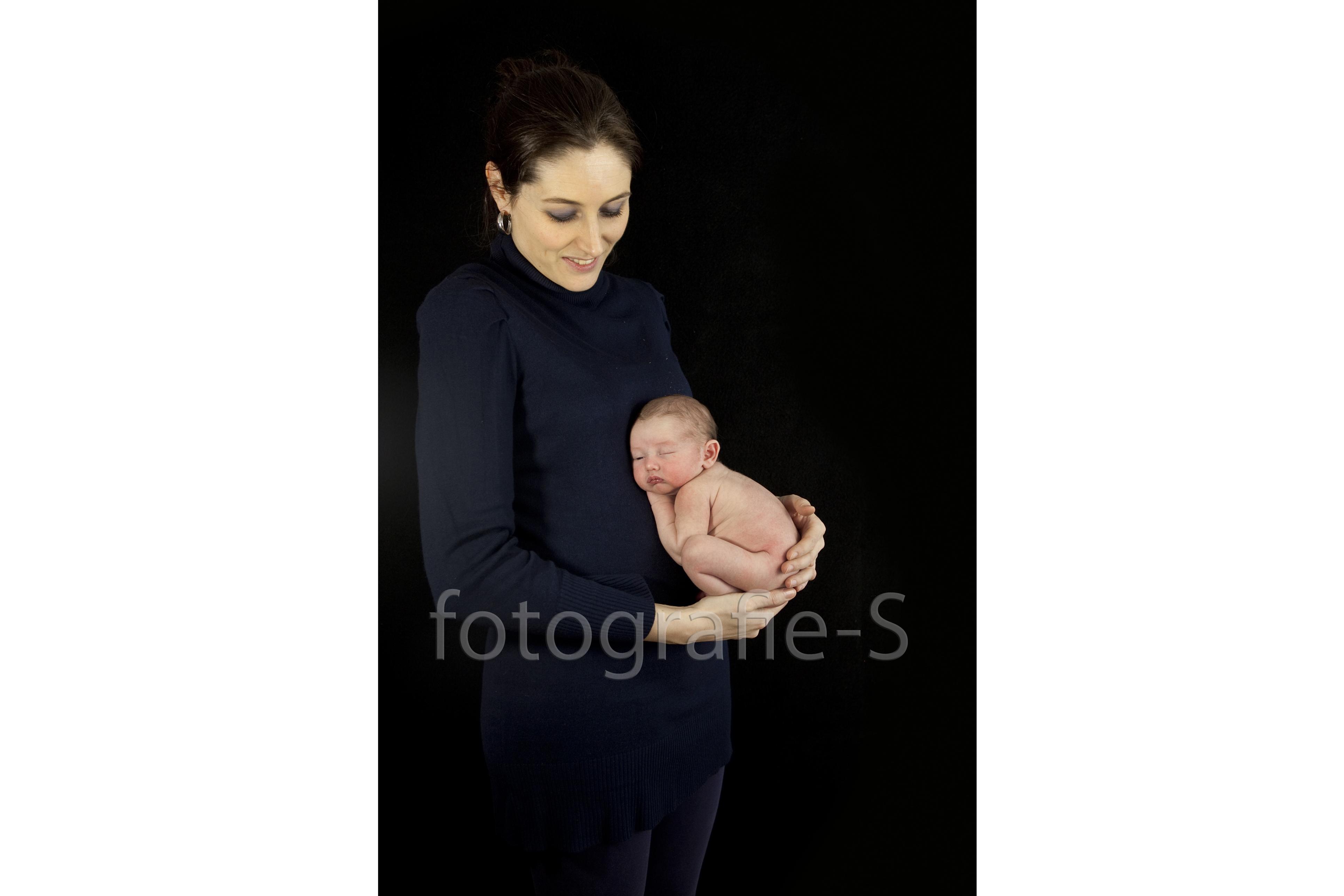 New born baby portret fotografie