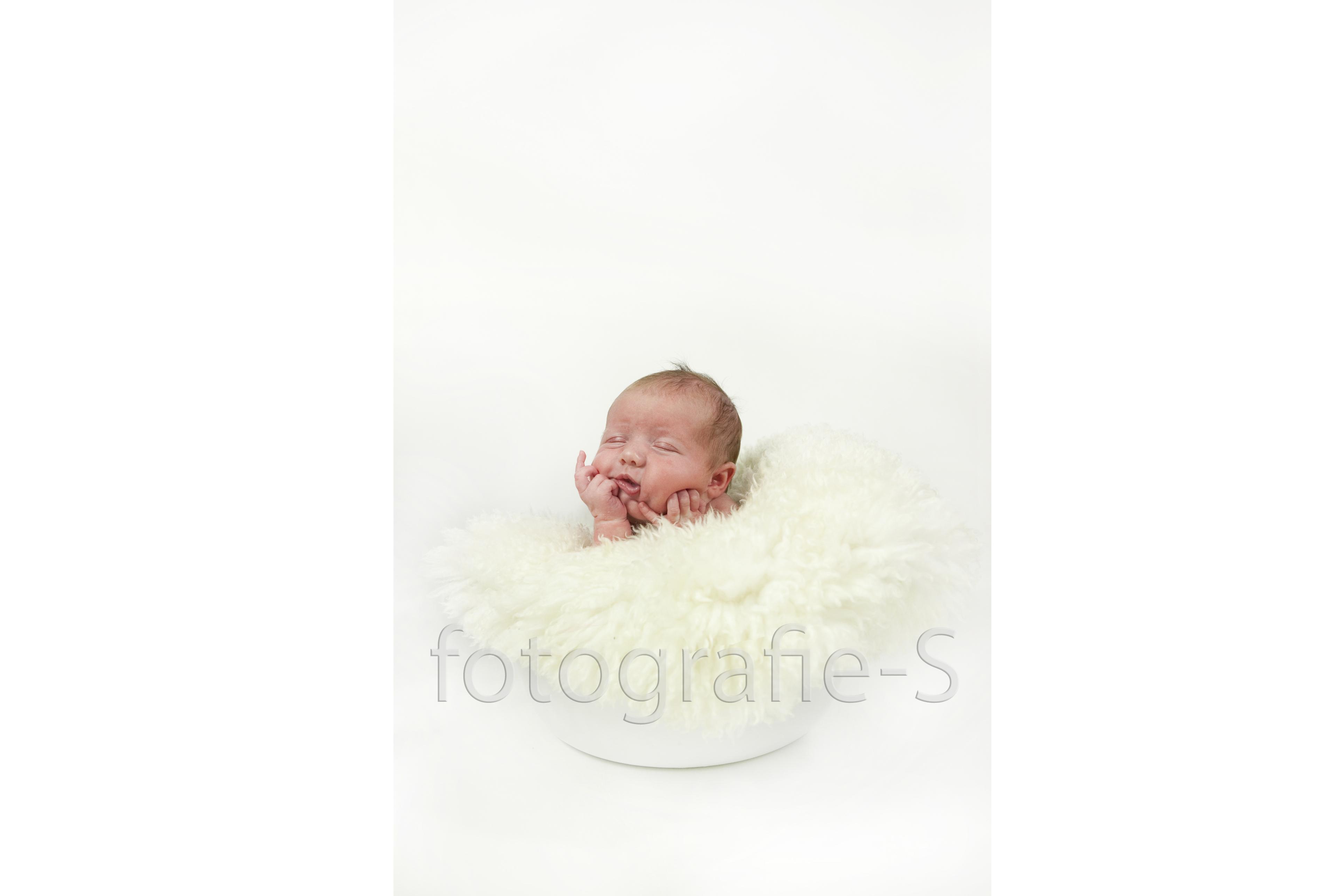 Newborn portret fotografie