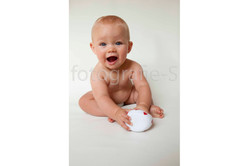 Fotograaf Baby fotografie zittend