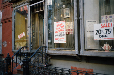 East Village, NYC, 1985-East 7th Street