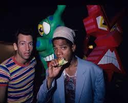 east village scene 80 & 90 kenny scharf et jean michel basquiat.jpg