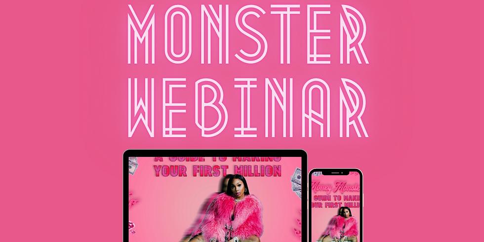 Money Monsters Webinar