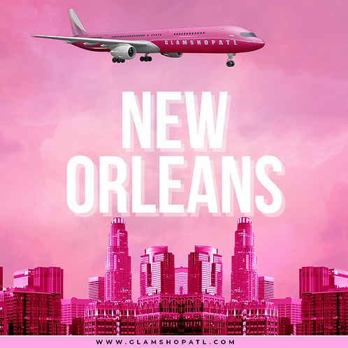 THE GLAM TOUR NEW ORLEANS- MAY 15TH (DEPOSIT ONLY)