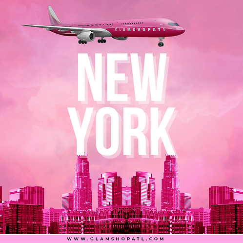THE GLAM TOUR 2021 NEW YORK- APRIL 17TH  (DEPOSIT ONLY)