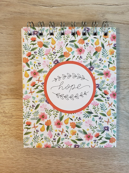 Hope (Floral) Mini Notebook