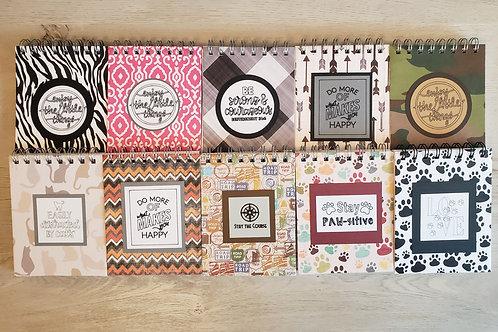Variety Pack of 10 Mini Notebooks