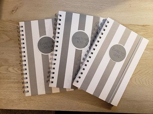 Gray & White Stripes