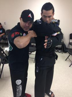 Jose Diaz-pre-fight Assassin Team