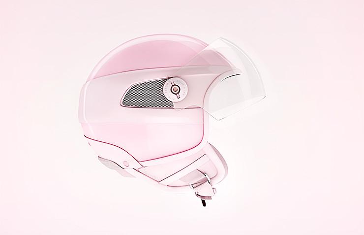 Full-CGI eines Motorrad-Helmes entstanden in den virtuellen Studios der bildbotschaft in Hannover.