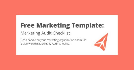 Free Marketing Audit Checklist Template