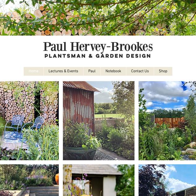 Paul Hervey-Brookes Notebook