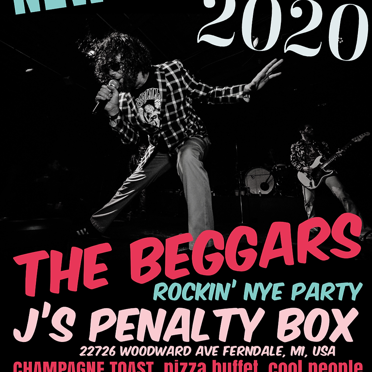 New Year's Eve 2020 at J's Penalty Box!